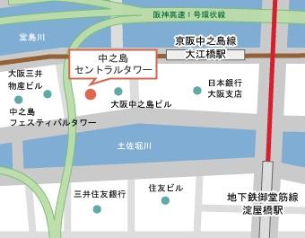 大坂支社地図