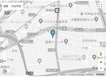 大阪支社地図