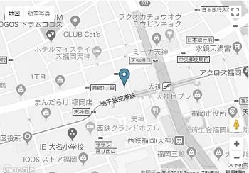 福岡支社地図