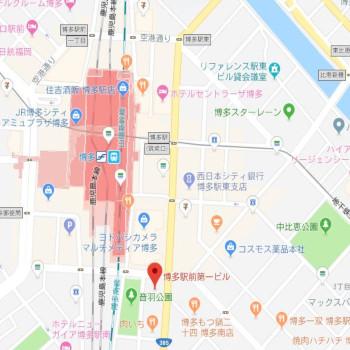 福岡支店地図